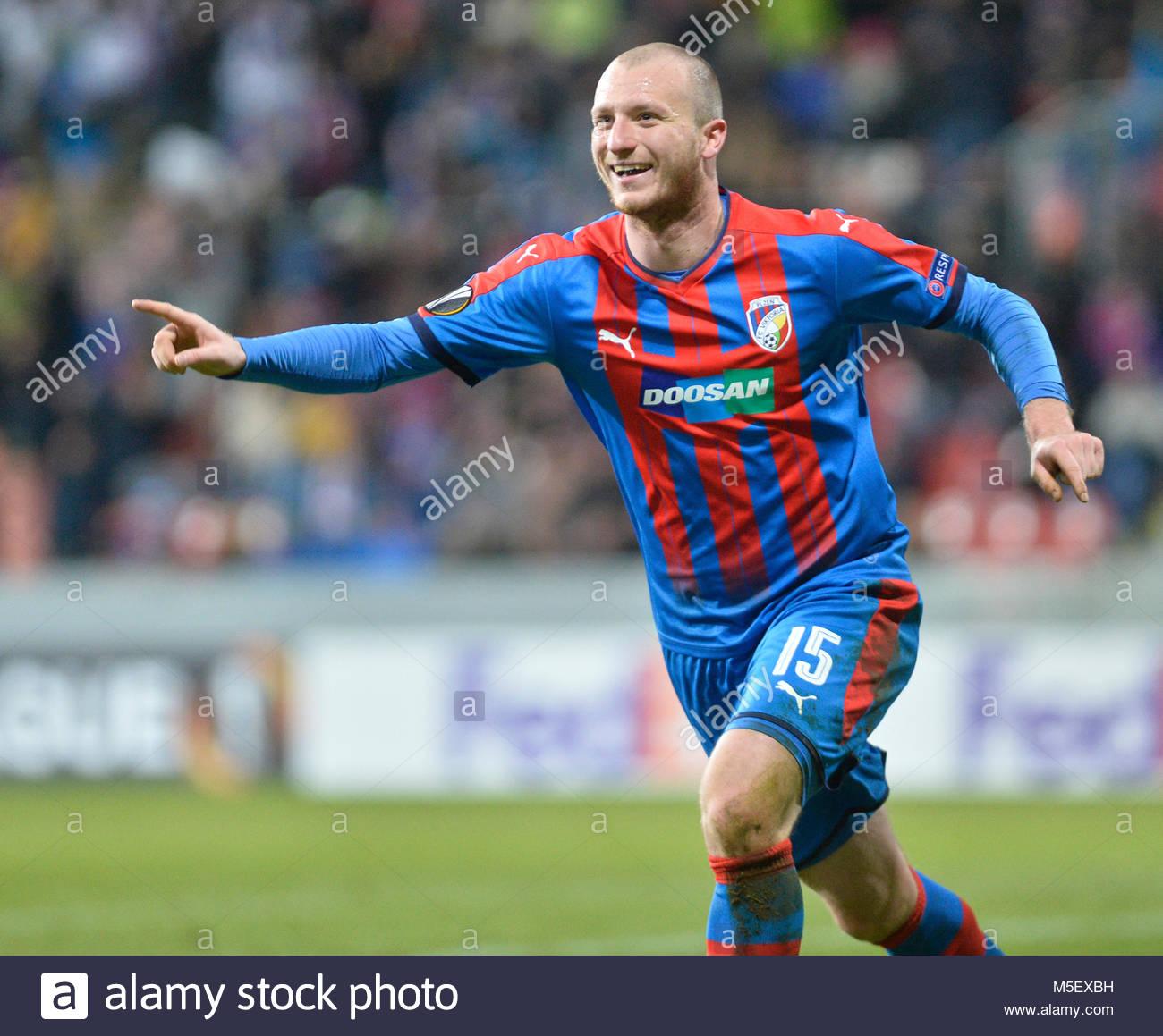 michael-krmencik-of-viktoria-celebrates-a-goal-during-the-europa-football-M5EXBH.jpg